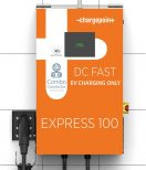 ChargePoint Express 100 CPE100 electric car charging station EVSE - close-up view