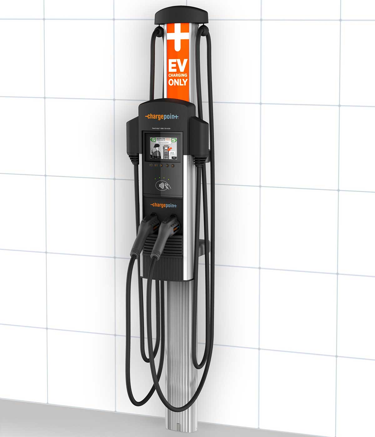 ChargePoint CT4023 GW1 Gateway Unit - electric car charging station EVSE - left side