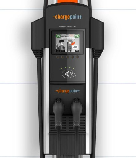 ChargePoint CT4027 GW1 Gateway Unit - electric car charging station EVSE - close-up view