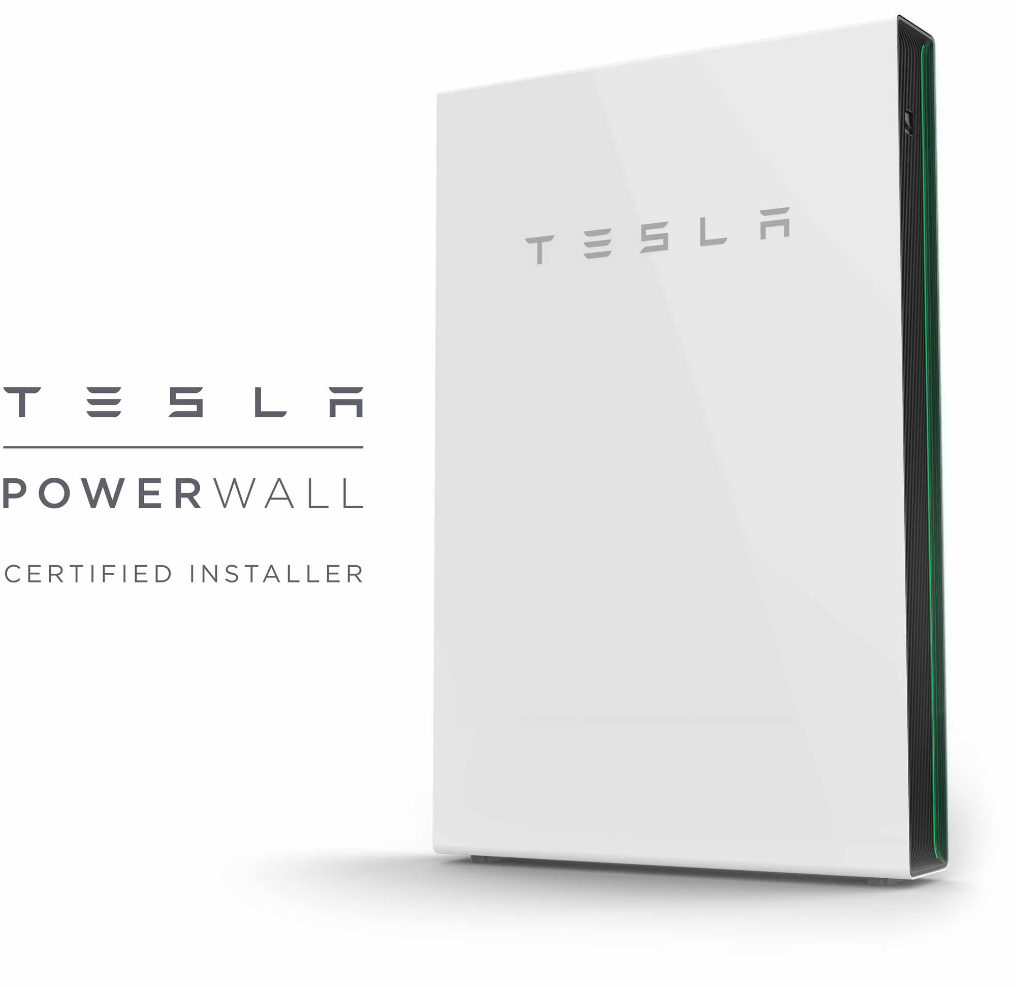 Smart Charge America is a certified installer of the Tesla powerwall home battery
